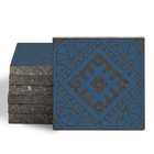 Magma Anais Pattern Tiles - Denim