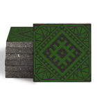 Magma Anais Pattern Tiles - Grass