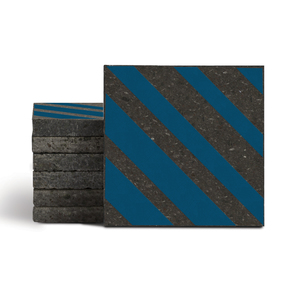 Magma Altis Pattern Tiles - Cobalt