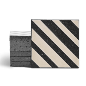 Magma Altis Pattern Tiles - Sand