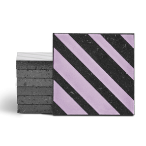 Magma Altis Pattern Tiles - Lilac