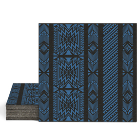 Magma Anive A Pattern Tiles - Denim