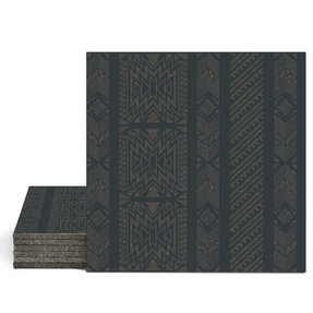Magma Anive B Pattern Tiles - Anthracite