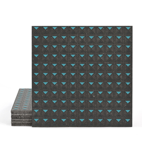 Magma Armor Pattern Tiles - Anthracite