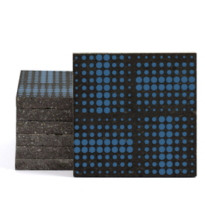 Magma Eleide Pattern Tiles - Denim