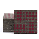 Magma Eleide Pattern Tiles - Burgundy