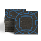 Magma Eleos A Pattern Tiles - Denim