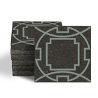 Magma Eleos A Pattern Tiles - Olive