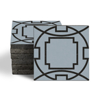 Magma Eleos B Pattern Tiles - Cement