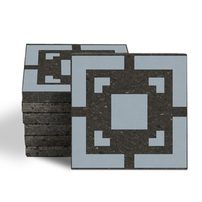 Magma Eneride Pattern Tiles - Cement