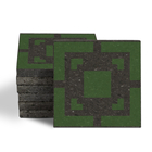 Magma Eneride Pattern Tiles - Grass