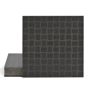 Magma Enisa Pattern Tiles - Anthracite