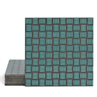 Magma Enisa Pattern Tiles - Turquoise