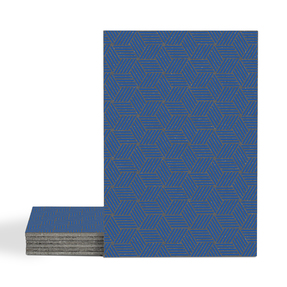 Magma Gea Pattern Tiles - Sapphire