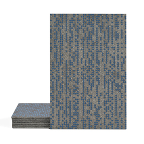 Magma Infine Pattern Tiles - Denim