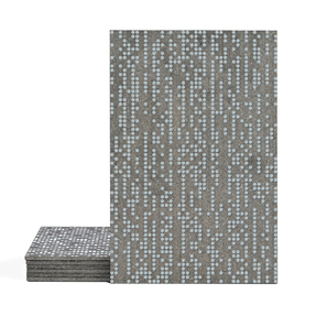 Magma Infine Pattern Tiles - Ice