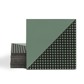 Magma Micronea Pattern Tiles - Olive