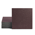 Magma Micros Pattern Tiles - Burgundy