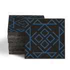 Magma Nadara Pattern Tiles - Denim