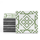 Magma Nadara Pattern Tiles - Grass
