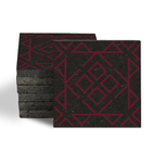 Magma Nadara Pattern Tiles - Burgundy