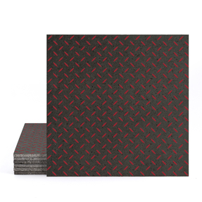 Magma Titil Pattern Tiles - Scarlett