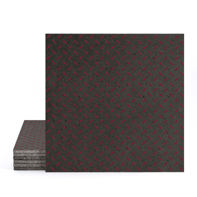 Magma Titil Pattern Tiles - Burgundy