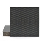 Magma Zinit Pattern Tiles - Anthracite