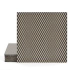 Magma Zinit Pattern Tiles - Taupe