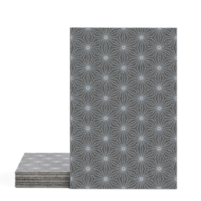 Magma Yannel B Pattern Tiles - Cement