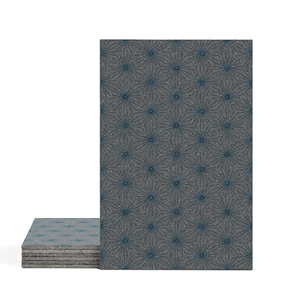 Magma Yannel B Pattern Tiles - Cobalt