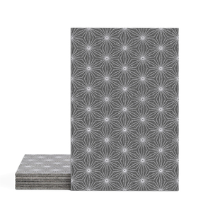 Magma Yannel B Pattern Tiles - Violet