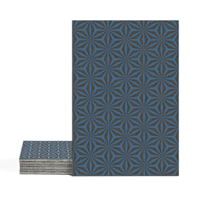 Magma Yannel A Pattern Tiles - Denim