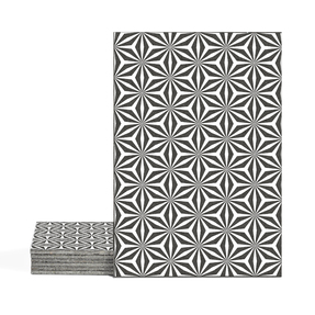 Magma Yannel A Pattern Tiles - Bianco