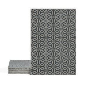 Magma Yannel A Pattern Tiles - Anthracite