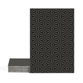 Magma Yannel A Pattern Tiles - Nero