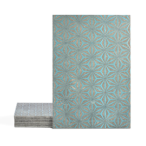 Magma Yannel A Pattern Tiles - Turquoise