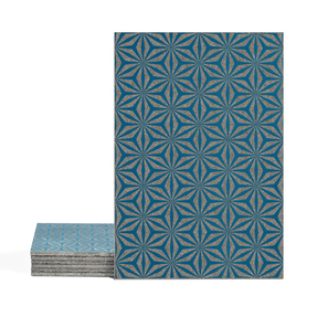 Magma Yannel A Pattern Tiles - Cobalt