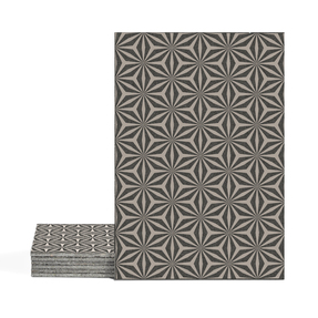 Magma Yannel A Pattern Tiles - Taupe