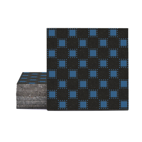 Magma Pania Pattern Tiles - Denim