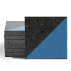 Magma Veles Pattern Tiles - Denim