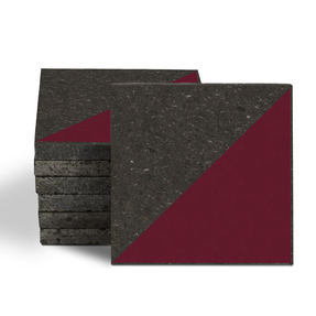 Magma Veles Pattern Tiles - Burgundy