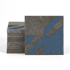 Magma Naine A Pattern Tiles - Denim