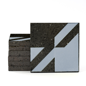 Magma Naine A Pattern Tiles - Cement