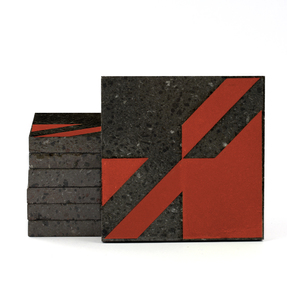 Magma Naine A Pattern Tiles - Scarlett