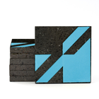 Magma Naine A Pattern Tiles - Turquoise