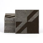 Magma Naine A Pattern Tiles - Wenge