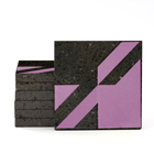 Magma Naine A Pattern Tiles - Violet
