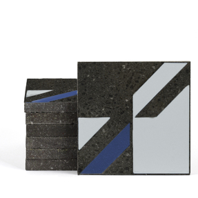 Magma Naine B Pattern Tiles - Ice
