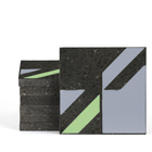 Magma Naine B Pattern Tiles - Cement